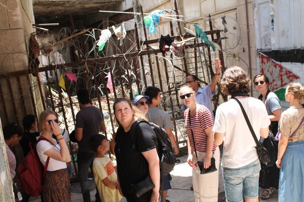 A program in Palestine for 10 youth from YMCA-YWCA Denmark, 2-11 July 2017